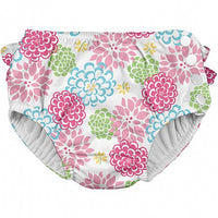 Ruffle Snap Reusable Absorbent Swimsuit Diaper