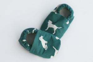 Growing Up Wild - Dog Organic Cotton Baby Booties