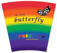 The Little Butterfly Rainbow Adventure Board Book and Matching Butterfly Plush