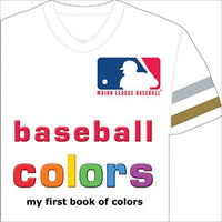 Baseball Colors Board Book