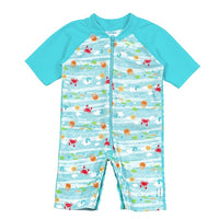 Sea Friends One Piece Swim Sunsuit