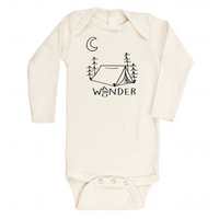 Wander Wonder Long Sleeve Onesie by Tenth & Pine