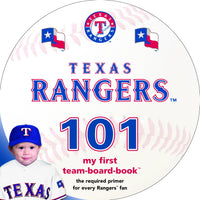 Texas Rangers 101 Board Book