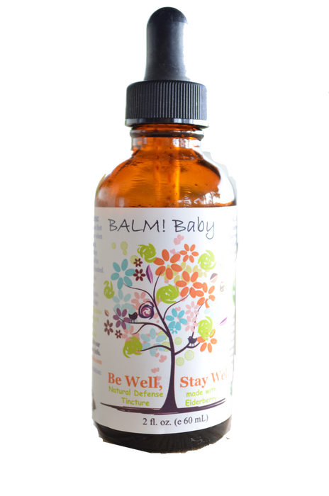 Be Well, Stay Well Elderberry Natural Immunity Defense by Balm! Baby