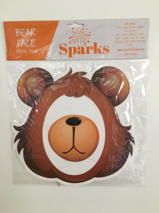 Sparks Mirror Decal