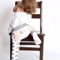 GRIP+EASY™ COMFORT CRAWLER LEGGING & SOCKS SET Alicorn
