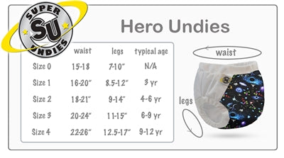 Super Undies - Super Undies Hero Undies