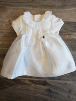 White Twill Dress