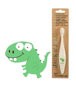Jack N' Jill Bio Toothbrush - Dino Handle