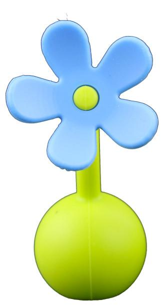 Haakaa Silicone Flower Stopper in Blue