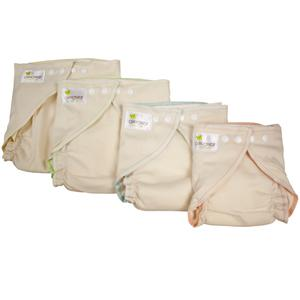 OsoCozy Organic Cotton Fitted Cloth Diaper