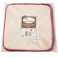 OsoCozy Flannel Wipes-Unbleached