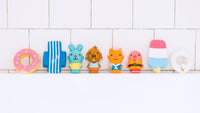 Sago Mini Easy Clean Bath Squirters and Floaties - Individual Packs