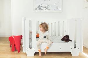 Noninoni Full Size Crib and Toddler Rail Bundle