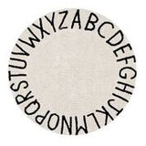 Round ABC Lorena Canals Washable Rug