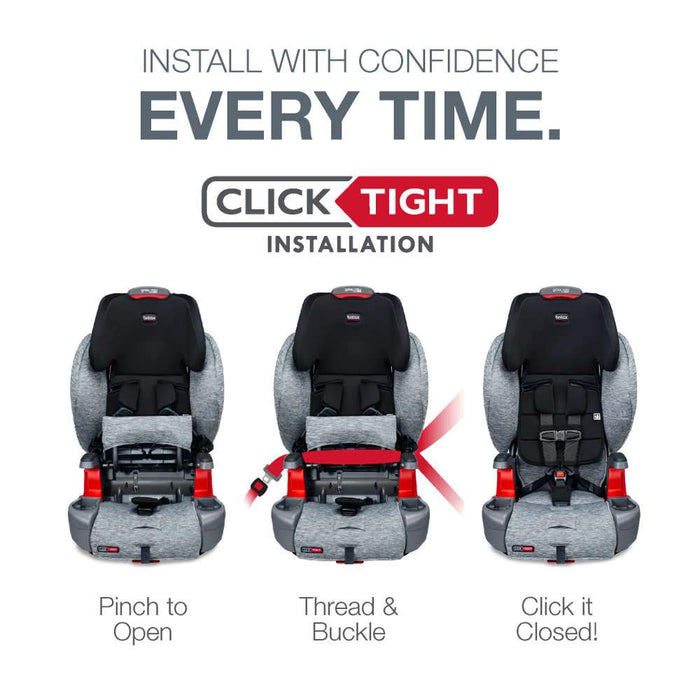 Britax Grow With You Clean Comfort Harness Booster Seat