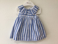 Linen Striped Dress Set