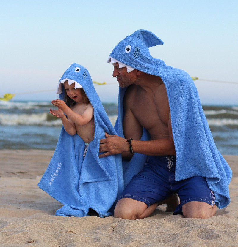 Hooded Towels - Adult Size by Yikes Twins
