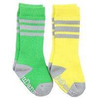 Judanzy Socks Green and Yellow Tube
