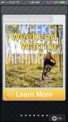Weekend Warrior: Max results for cyclists who can ride only a few times a week