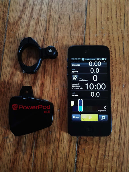 PowerHouse Bike app + PowerPod BLE (cycling Activity Tracker)