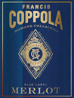 Francis Coppola Blue Label Merlot - Club del Gourmet