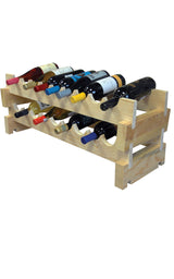Racks de Madera 18 botellas - Club del Gourmet