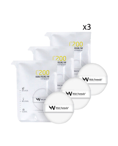 C200 Bubble Peeling Pad (Set of 3) - SkincarePharm