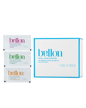 BELLON WELL-WASH POWDER (15EA) - SkincarePharm