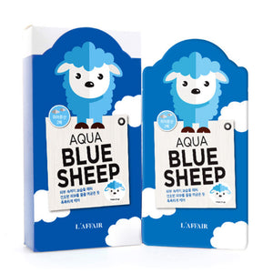 L'AFFAIR Animal Aqua Blue Sheep Mask - SkincarePharm