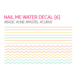 Nail.Me Water Decal Nail Sticker - SkincarePharm