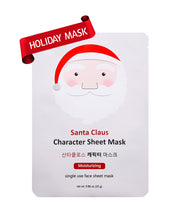 Load image into Gallery viewer, Santa Claus Character Sheet Mask (Set of 6) - SkincarePharm