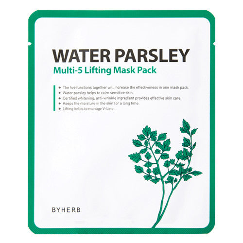 Water Parsley Multi-5 Lifting Mask Pack - SkincarePharm