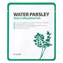 Load image into Gallery viewer, Water Parsley Multi-5 Lifting Mask Pack Set - SkincarePharm