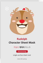 Load image into Gallery viewer, Rudolph Character Sheet Mask - SkincarePharm