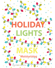 Load image into Gallery viewer, Holiday Lights Mask - SkincarePharm