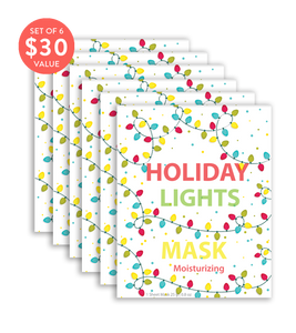 Holiday Lights Mask (Set of 6) - SkincarePharm