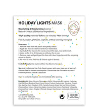 Load image into Gallery viewer, Holiday Lights Mask (Set of 6) - SkincarePharm