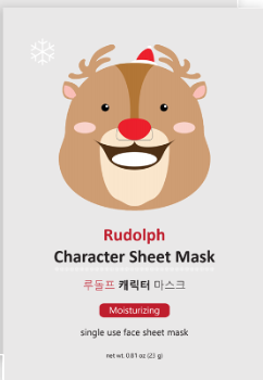 Rudolph Character Sheet Mask (Set of 6) - SkincarePharm