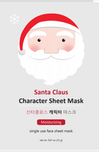 Load image into Gallery viewer, Santa Claus Character Sheet Mask - SkincarePharm