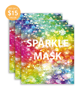Sparkle Mask (Set of 3) - SkincarePharm