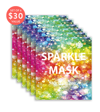 Load image into Gallery viewer, Sparkle Mask (Set of 6) - SkincarePharm