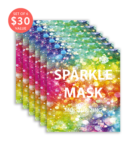 Sparkle Mask (Set of 6) - SkincarePharm
