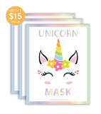 Unicorn Mask (Set of 3)