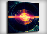 My Infinite Eye Canvas Print, By CrownosArts