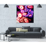 Blood Oxygen Canvas Print, By CrownosArts