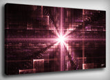 Infinite Time Fractal Canvas Print, By CrownosArts