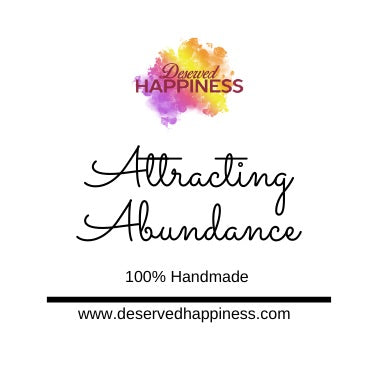Attracting Abundance Candle
