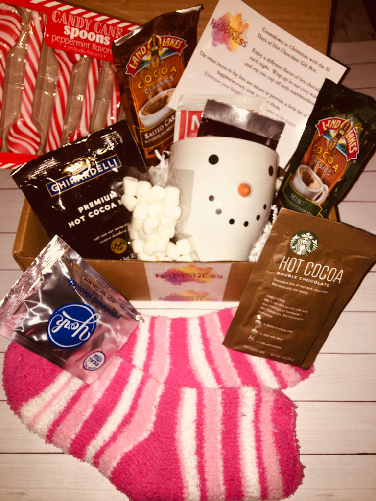 12 Days Of Hot Chocolate Gift Box