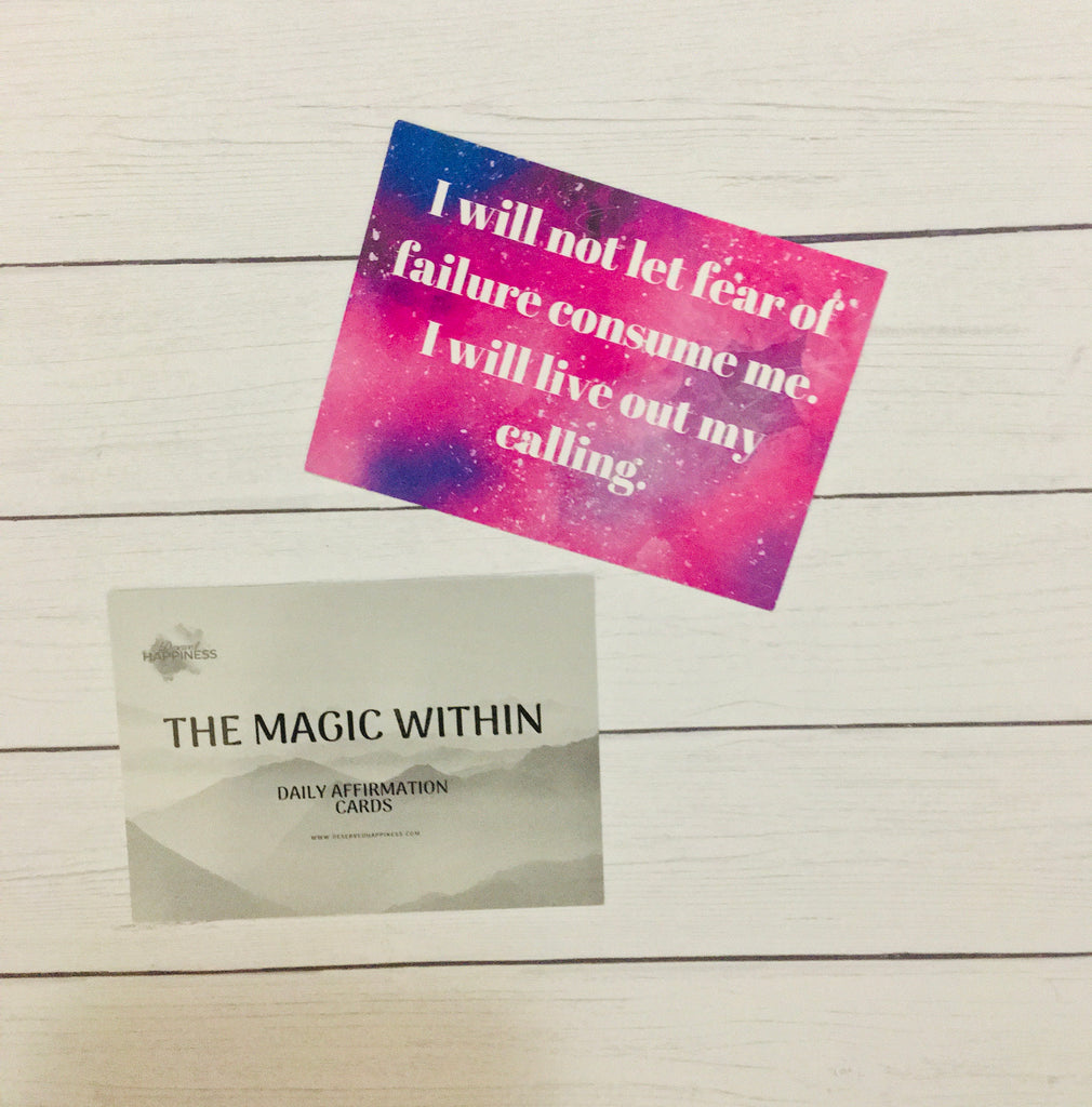 Magic Within Affirmation Cards